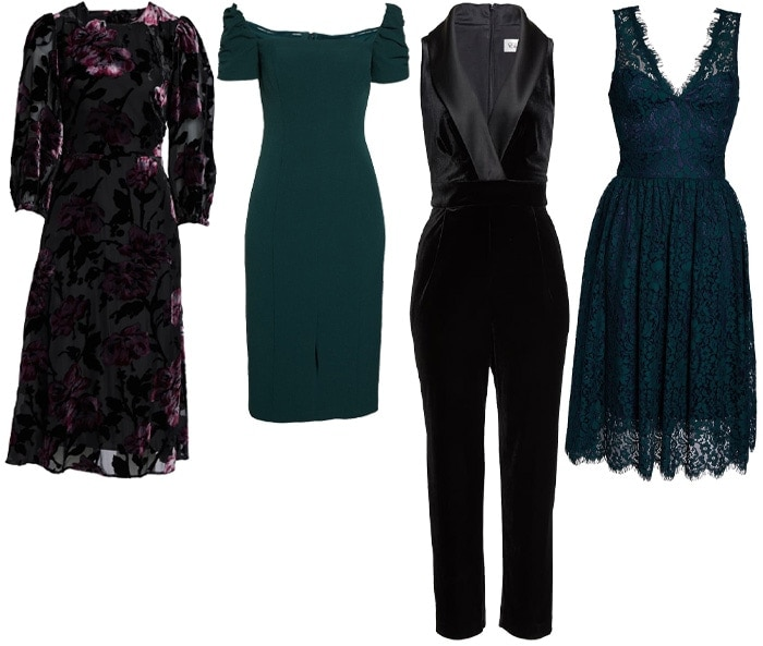 Petite size cocktail dresses and jumpsuit | 40plusstyle.com