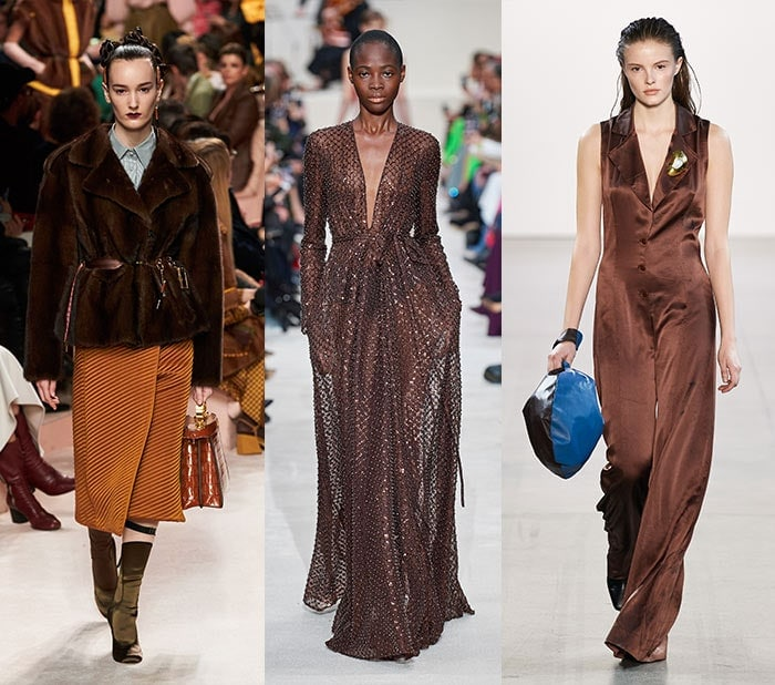 Fall 2020 color trends - chocolate brown | 40plusstyle.com