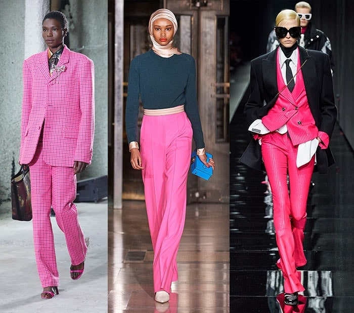 Fall clothing colors - shocking pink | 40plusstyle.com
