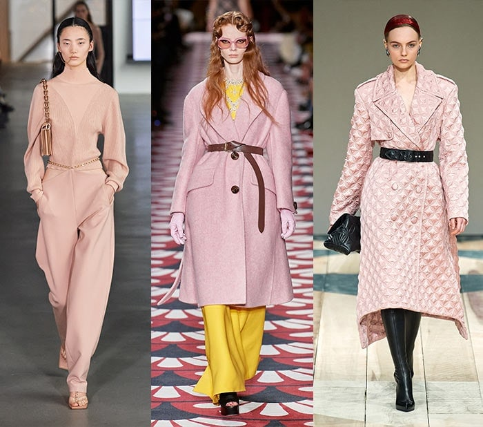 Fall clothing colors - Pink for winter and fall 2020 | 40plusstyle.com