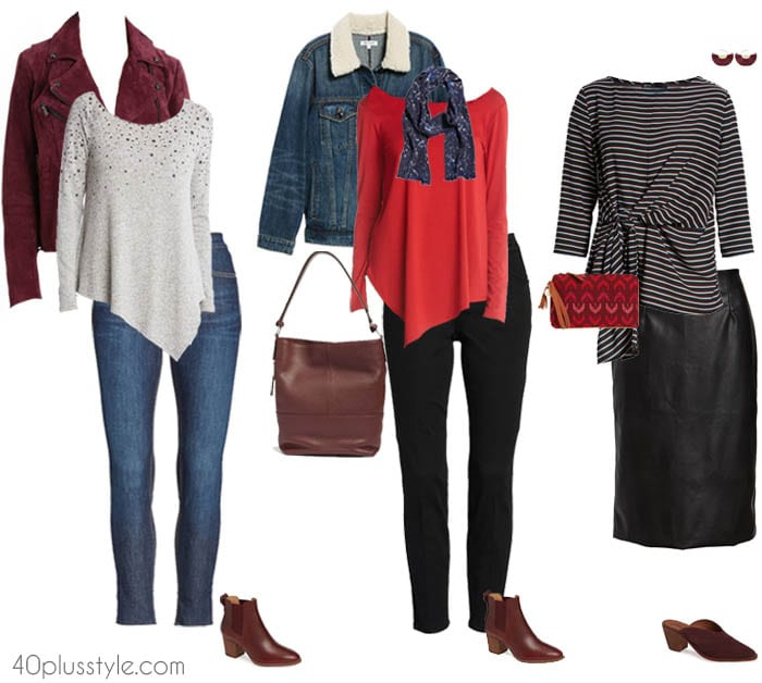 Fall and winter outfit ideas | 40plusstyle.com