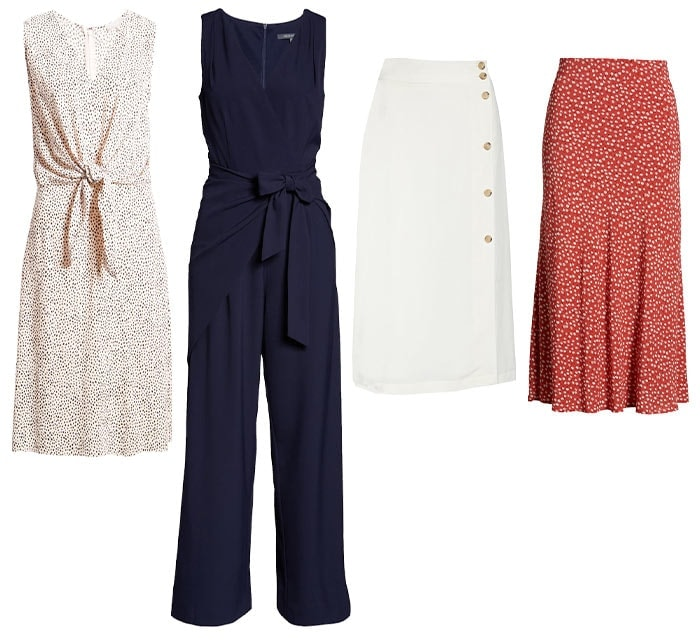 Dresses for inverted triangle, pants and skirts | 40plusstyle.com