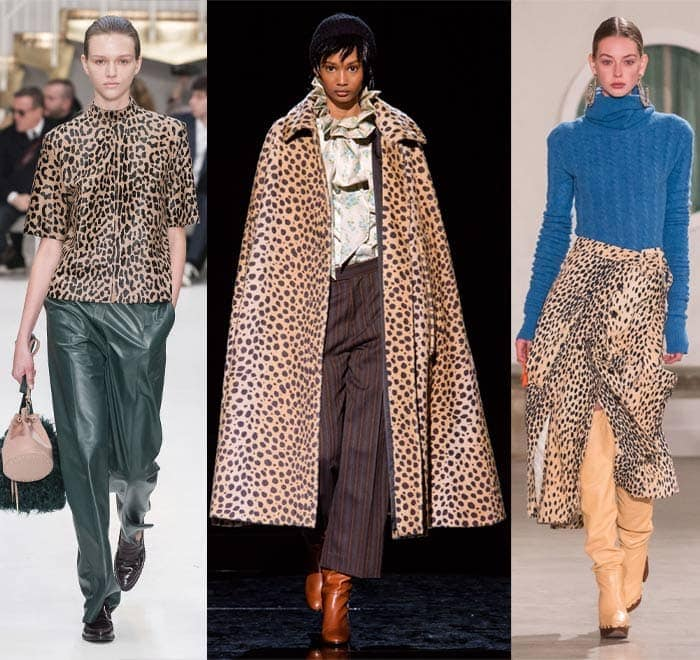Leopard prints in the fall 2019 trends | 40plusstyle.com