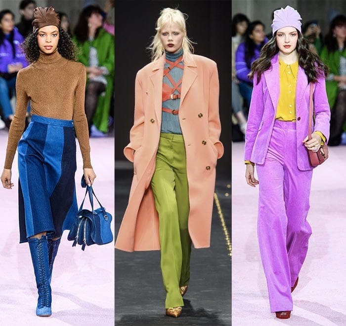 contrasting tones to color block with | 40plusstyle.com