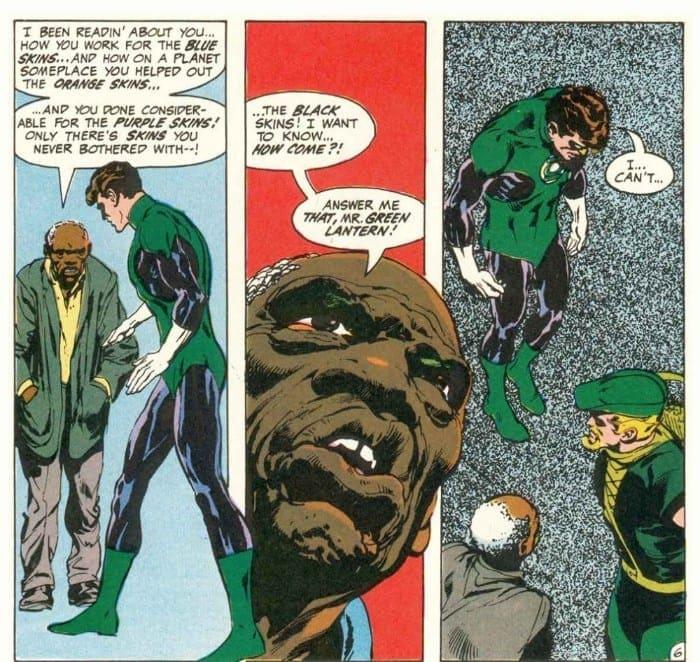 Denny O'Neil Died, Green Lantern, Green Arrow, Social Justice, Racism, DC Comics, Hal Jordan, Oliver Queen, Green Lantern/Green Arrow, Ra's Al Ghul, Azrael, Neil Adams
