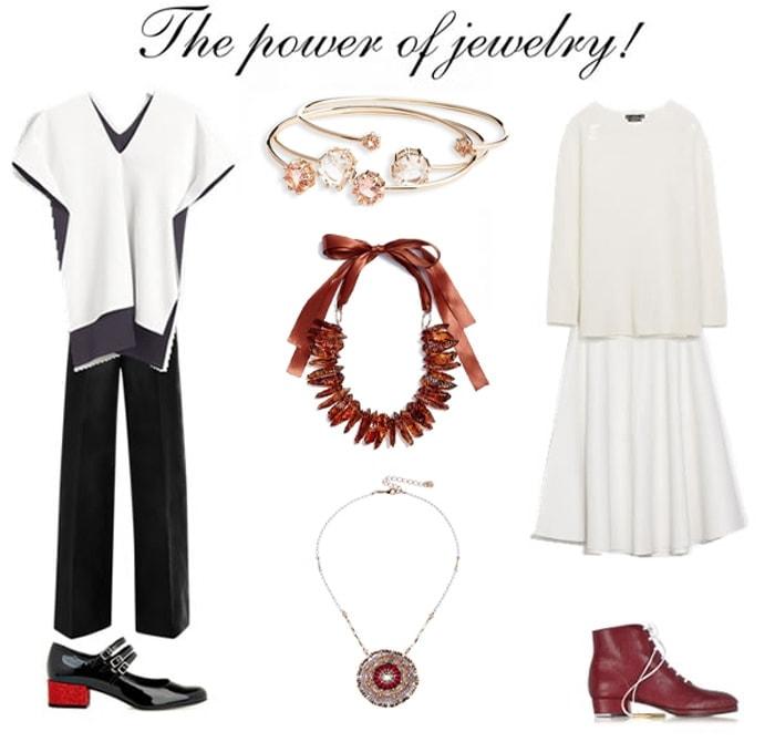 how to wear statement jewellery   40plusstyle.com
