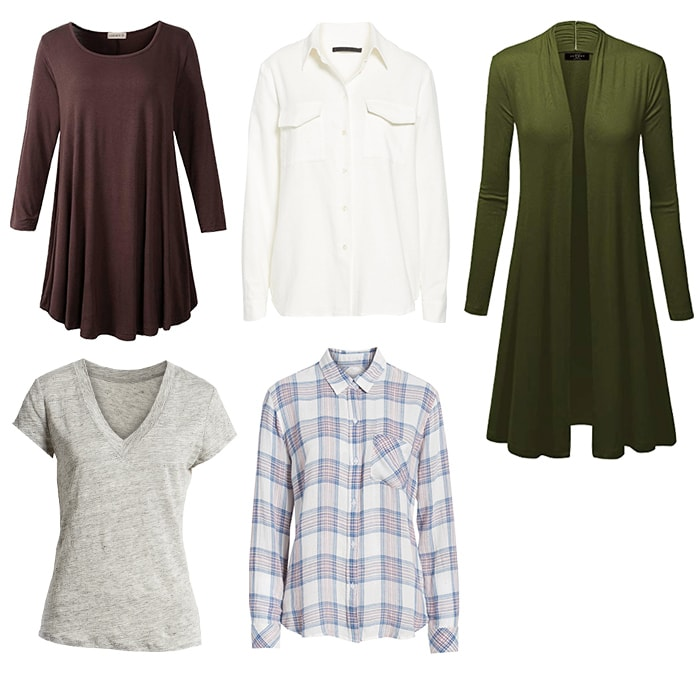 Tops for the natural style personality | 40plusstyle.com