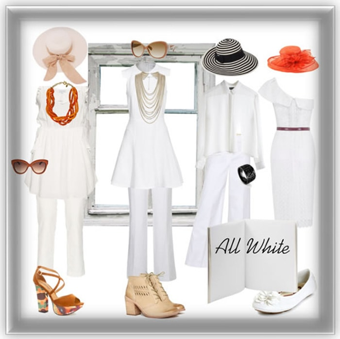 all white | 40plusstyle.com