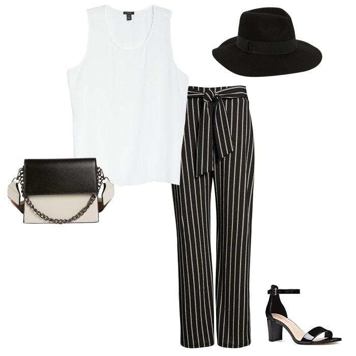 Striped pants | 40plusstyle.com