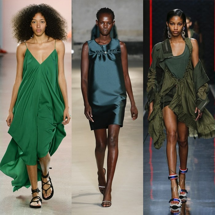 Deep olive or emerald greens for summer   40plusstyle