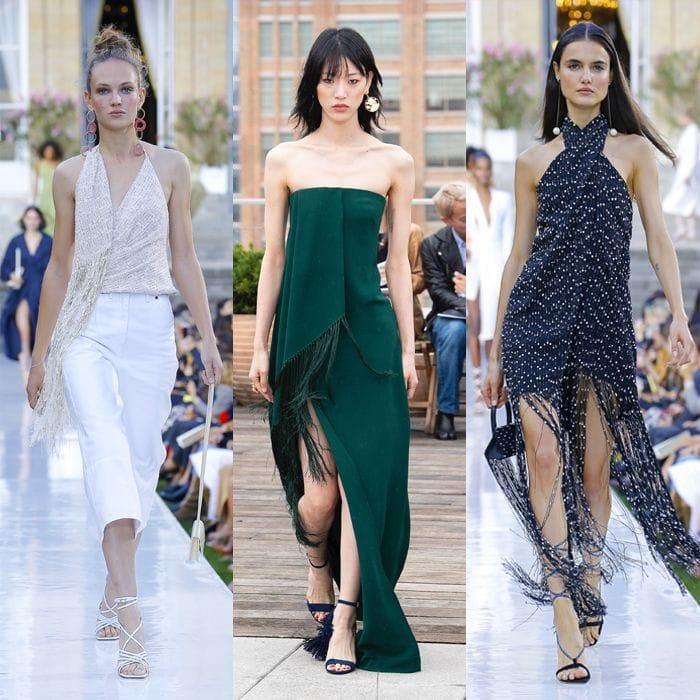 Spring / summer 2019 trends: Fringing for women over 40 | 40plusstyle