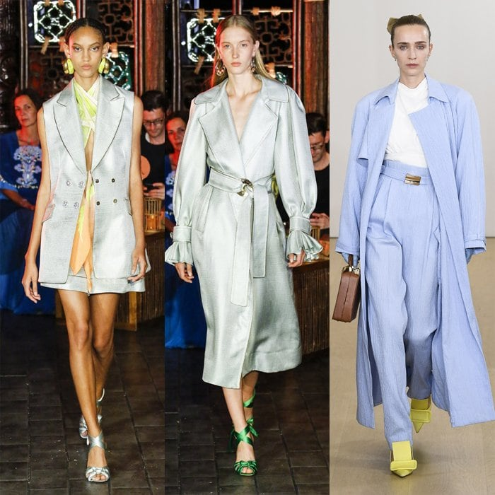 Pale blue color trend for spring   40plusstyle