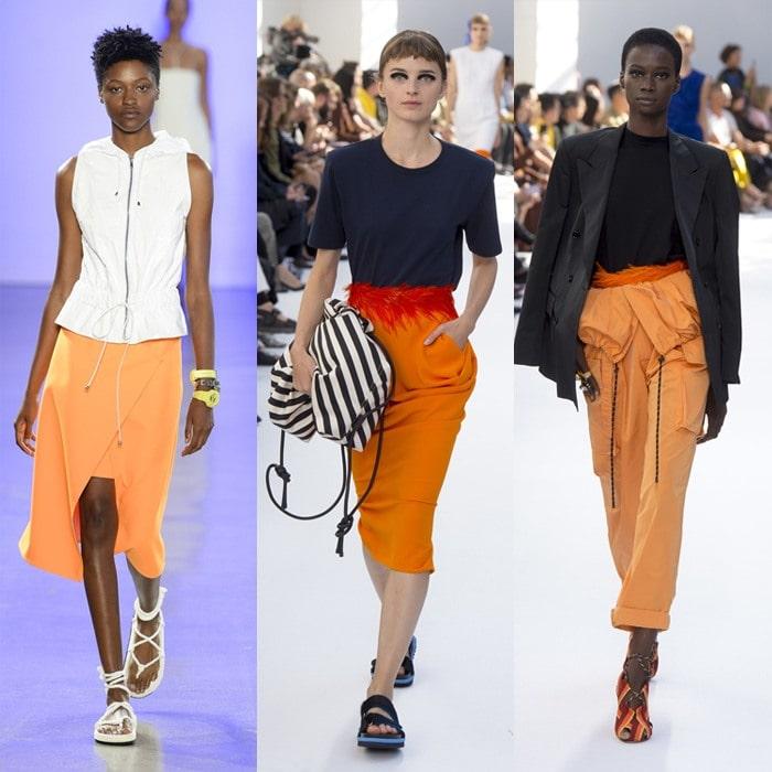Wearing orange for spring 2019   40plusstyle