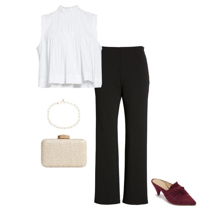 High Waist pants for petite women | 40plusstyle.com