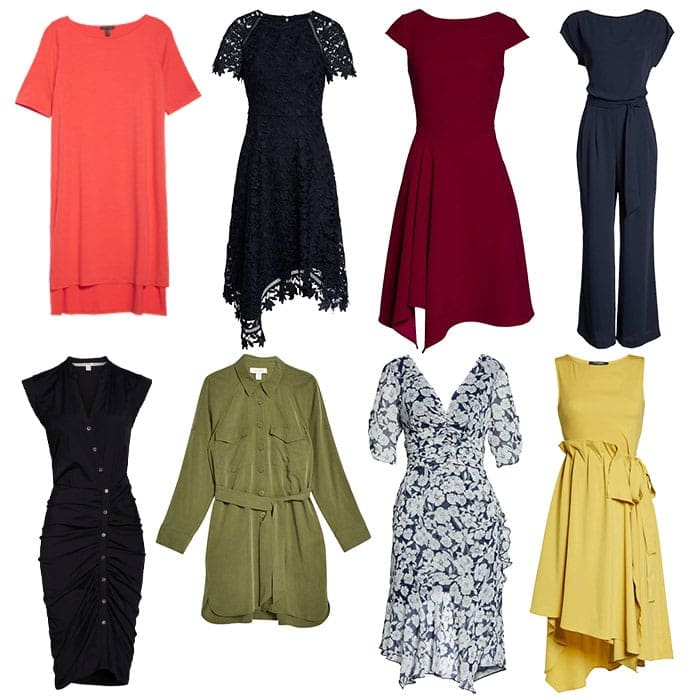 dresses for the rectangle body shape | 40plusstyle.com