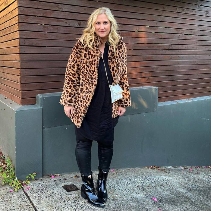 Best winter boots for women - Andrew wears patent chelsea boots | 40plusstyle.com