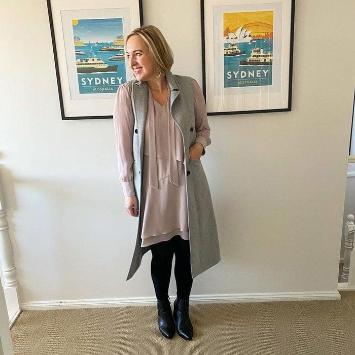 best winter coats for women - sleeveless coats | 40plusstyle.com