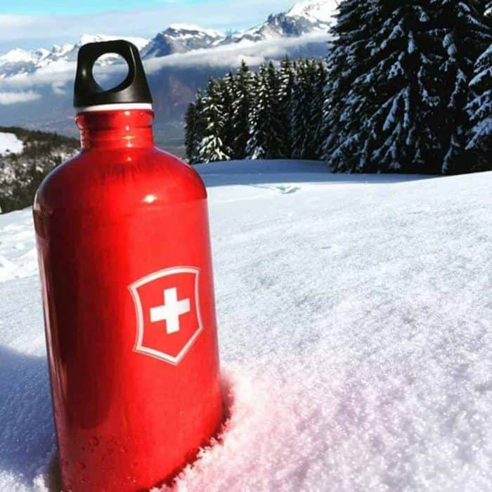Sigg 8318.60 Swiss Emblem Red 1.0 L
