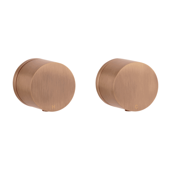Milani Assembly Taps - Brushed Copper