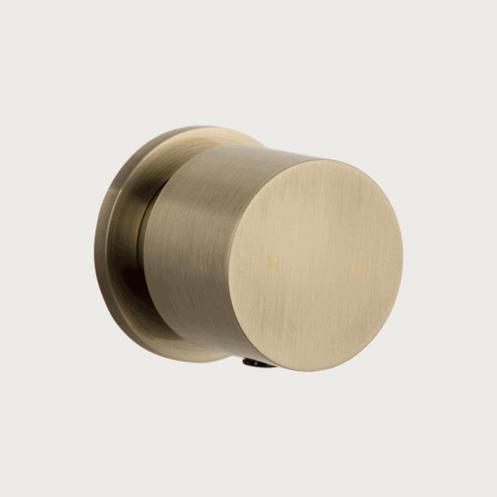 Milani Progressive Single Mixer - Brushed Brass