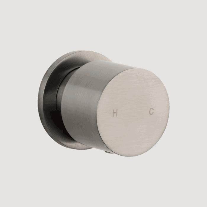 Milani Progressive Single Mixer - Brushed Nickel