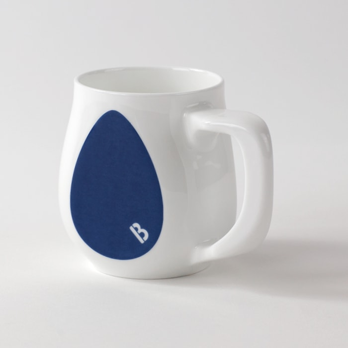 Buddy Mugs Rebellious Blue