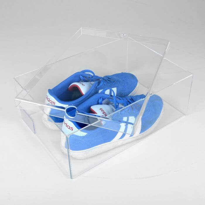 Clear Acrylic Shoes Box