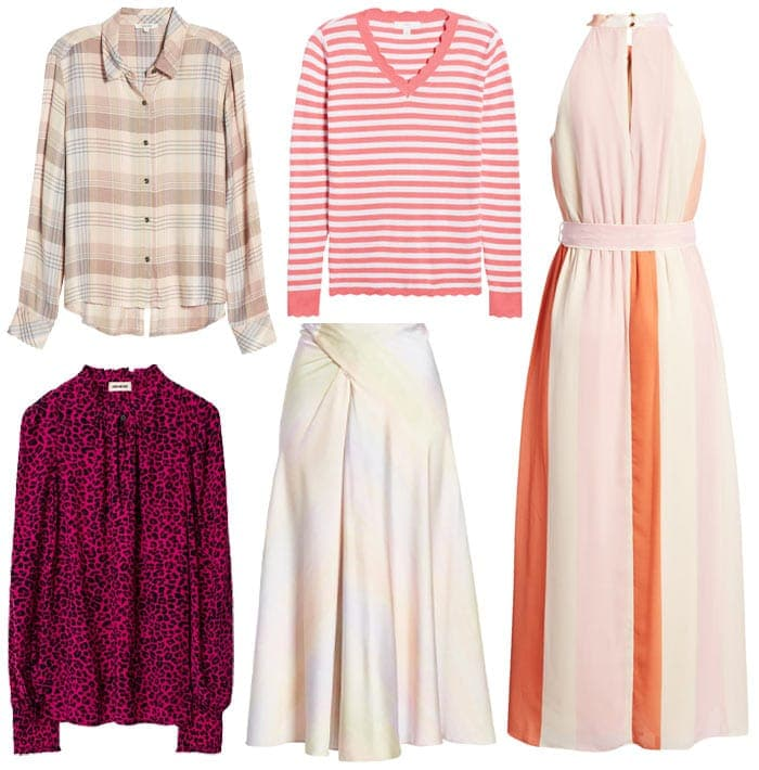How to wear pink contrast and prints | 40plusstyle.com