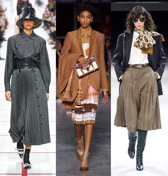 Elegant pleats in the fall 2019 trends| 40plusstyle.com