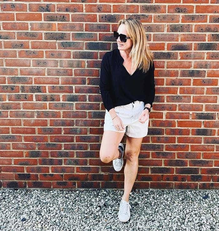 Chino shorts | 40plusstyle.com