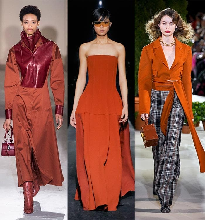 Rusty red color trends | 40plusstyle.com