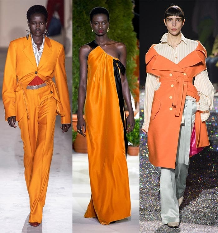 Warm orange color trends | 40plusstyle.com