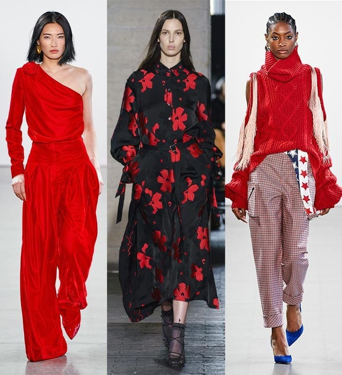 Bright red color trends | 40plusstyle.com