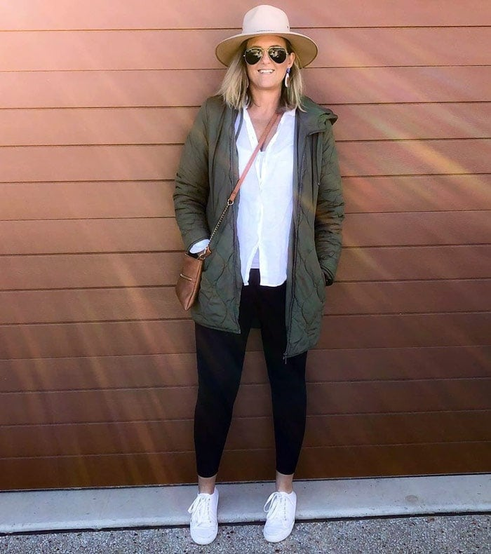 The best shoes to pair with leggings | 40plusstyle.com