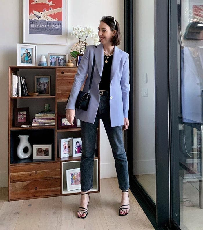 a blazer is a key piece in any classic style closet | 40plusstyle.com