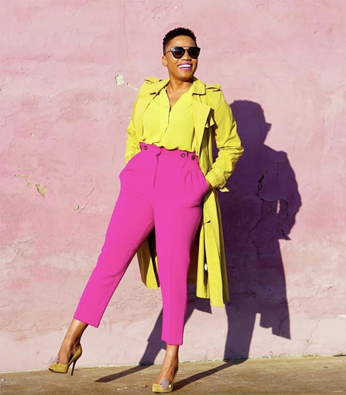 How to color block | 40plusstyle.com
