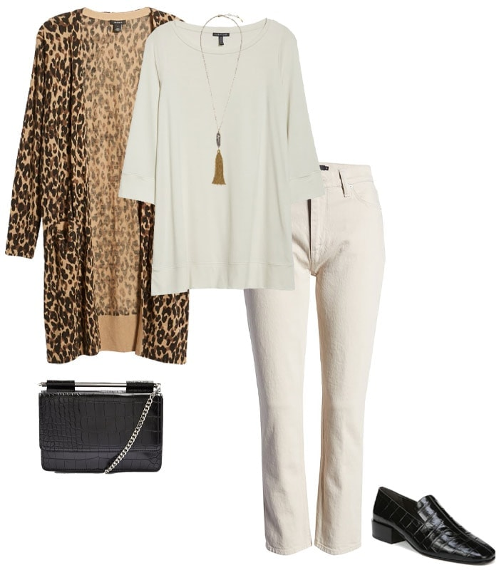 What to wear to a concert - a longline cardigan | 40plusstyle.com