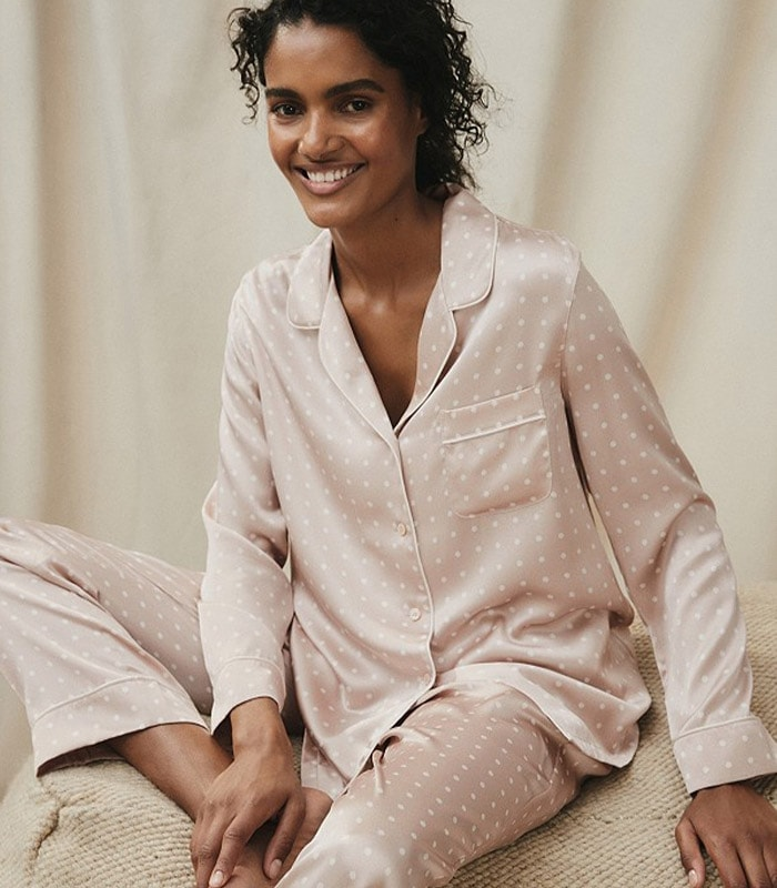 Silk pajamas for women | 40plusstyle.com