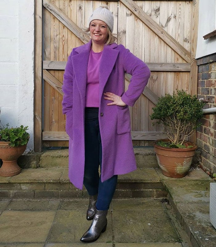 50 Shades of Purple: How to wear purple outfits in every shade from lilac to violet | 40plusstyle.com
