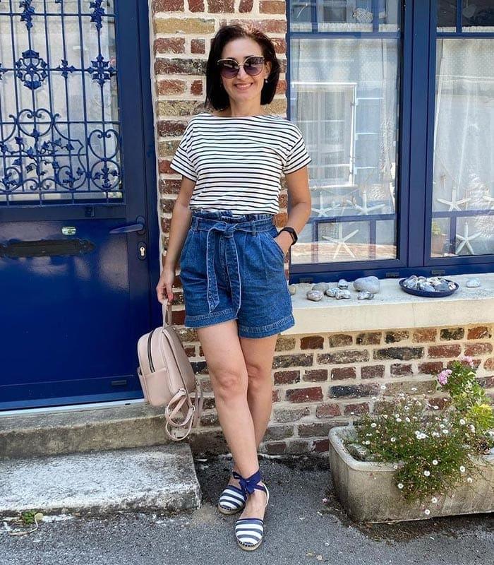 Best women's shorts - paperbag | 40plusstyle.com