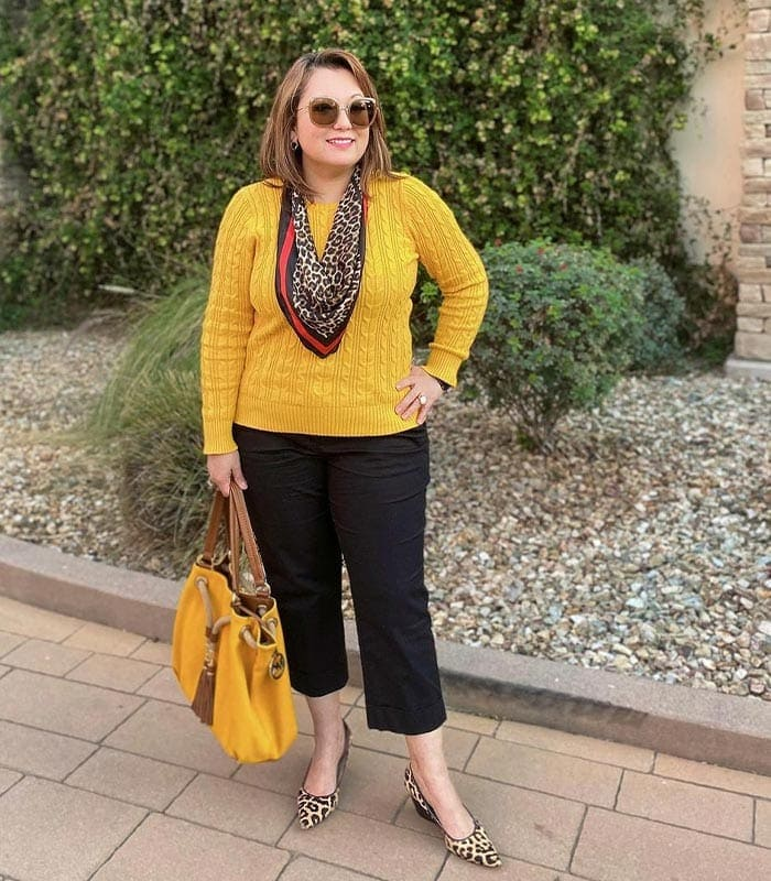 How to wear yellow and brighten up your day | 40plusstyle.com