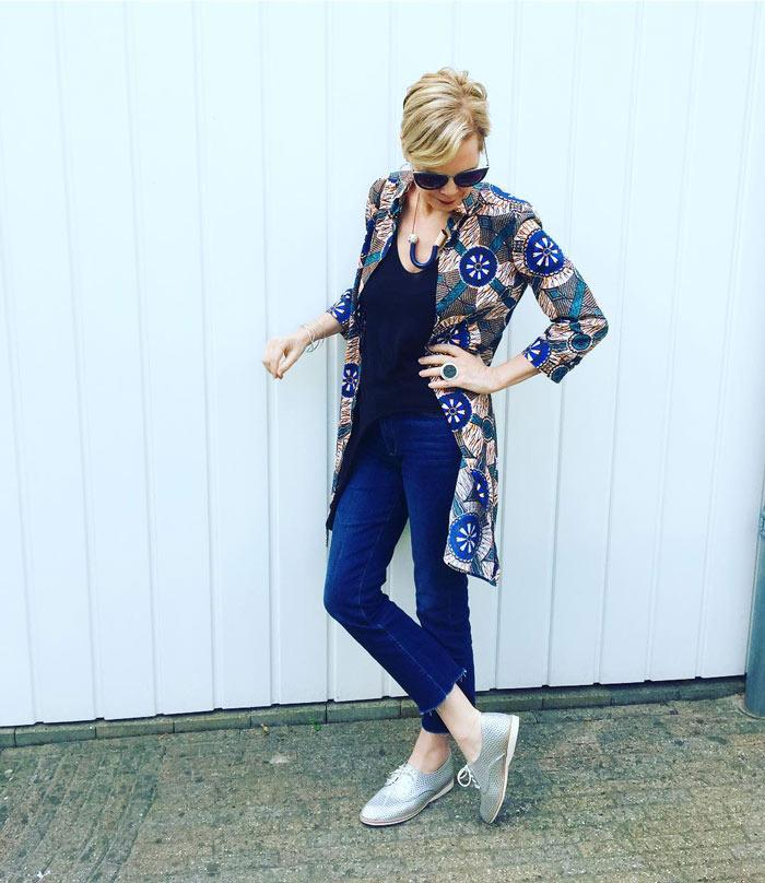 Tummy control jeans - jeans that slim your body   40plussyle.com