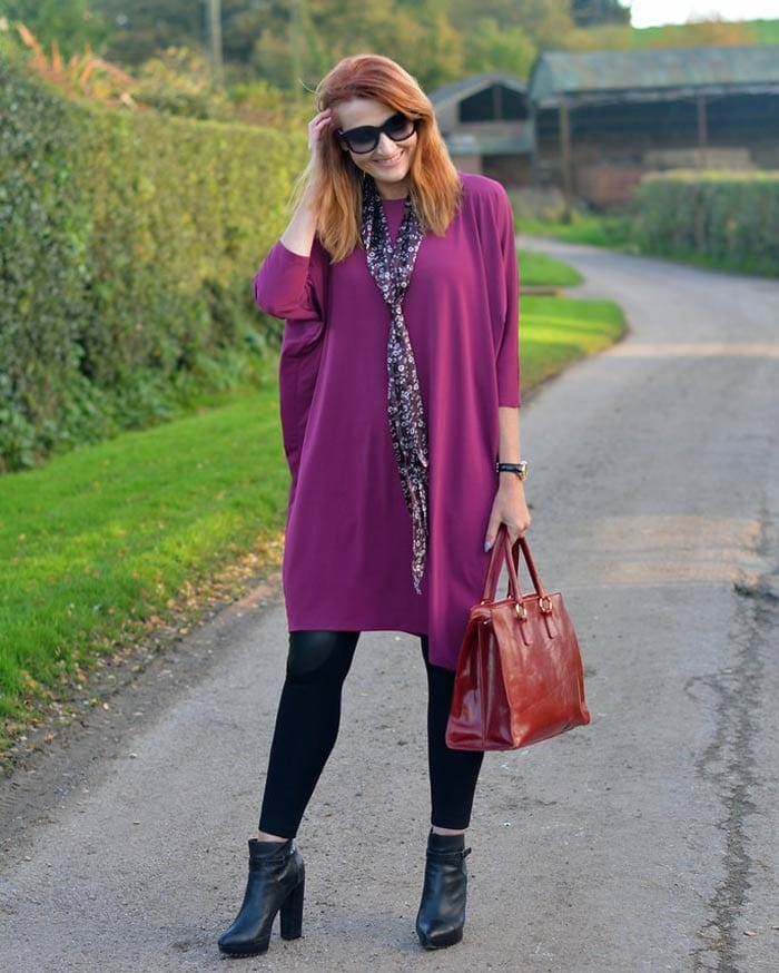 dresses to wear with leggings and booties