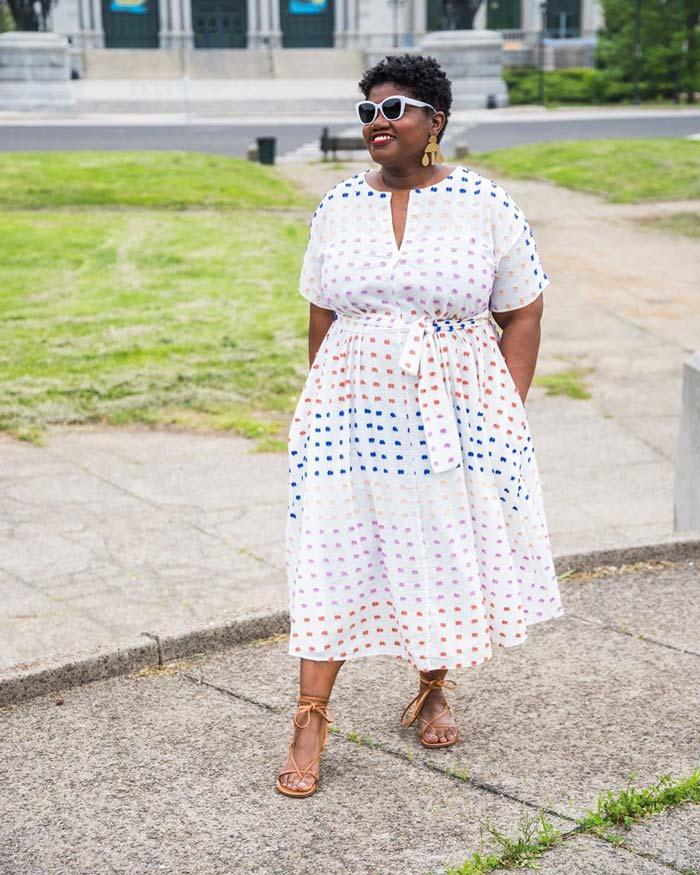 summer dresses | 40plusstyle.com