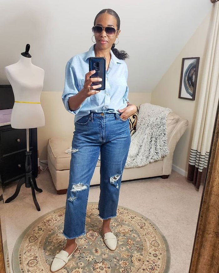 Shoes with arch support - Mo in flat mules | 40plusstyle.com