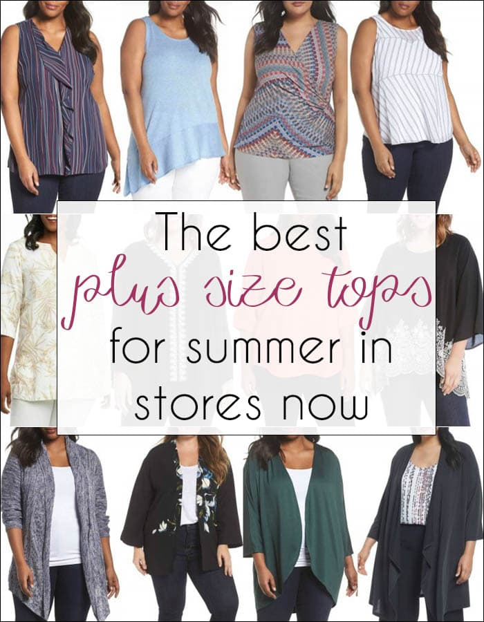 The best plus size tops for summer in stores now | 40plusstyle.com