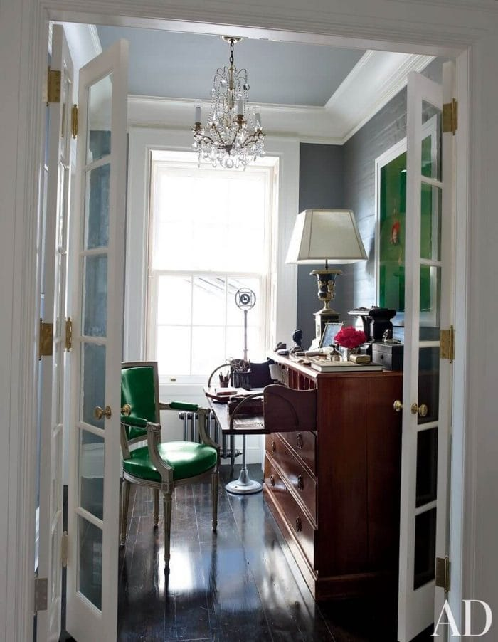 ELEGANT TRADITIONAL SMALL HOME OFFICE DESIGN IDEAS