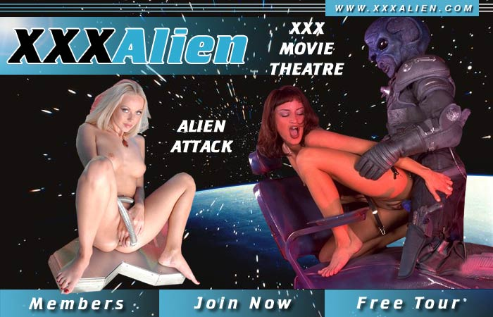 Interracial Alien cumshots