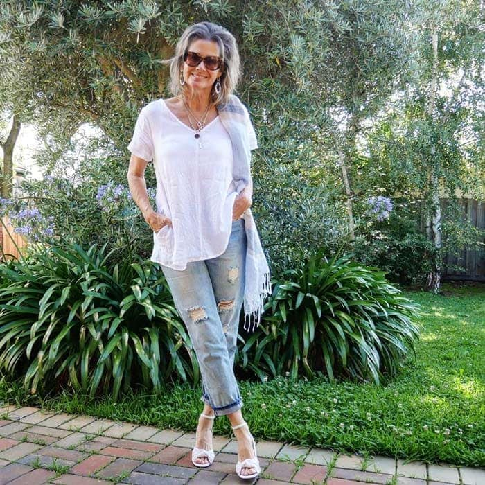 Suzie casual outfit | 40plusstyle.com
