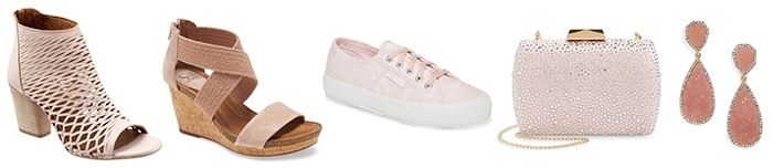 Stylish pink shoes and accessories | 40plusstyle.com